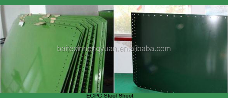 ECPC electo-coating and powder coating steel sheet