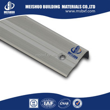 Safety Extruded Aluminum Profile Cheap Stair Nosing For Exterior Step