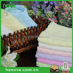 Wholesale customized 100% organic cotton towel