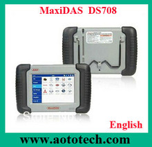 Most popular Autel ds708 works with Asian, European and American cars