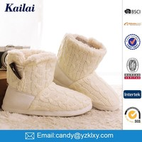 high quality white lady snow boot