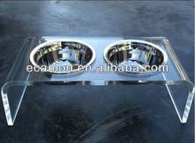 Acrylic pet feeders/ pet bowls
