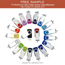 Free sample&Custom logo wholesale 2/4/8/16/32/64GB 2.0/3.0 swivel usb flash drives