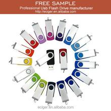 Free sample&Custom logo wholesale 2/4/8/16/32/64GB 2.0/3.0 swivel usb flash drive