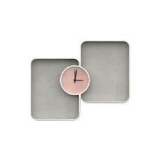 2015 new design made in China handmade decorative concrete wall/desktop alarm clock