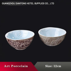 Chinese Supplier Handmade Soup Ceramic Bowl