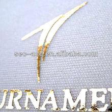 Mode t - shirt de transfert de chaleur sans plomb feuille métallique papier impression