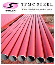 API 5L Red Painting Seamless Carbon Steel Pipe