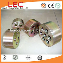 LEC Post Tension Concrete Prestressed Construction Anchor Block And Wedges