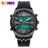 china wholesale big dial analog digital watch movement