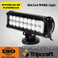 54w factory direct high quality led light bar with cover