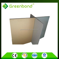 Greenbond wall covering material of standard size acp sheet for kitchen foil decoration