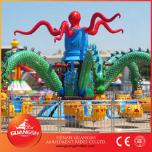 New arrival kid rides big octopus rides for outdoor children or family games ,direct factory