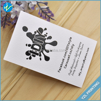 Special Shape Paper Customized Merchants Infomation card Business Card Printing