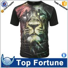 Hot Sales economic unisex custom led light t shirt