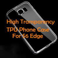 blank cell phone case TPU Case for samsung S6 edge s6 edge plus