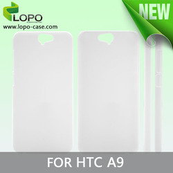 new printable blank 3d sublimation phone case for HTC A9