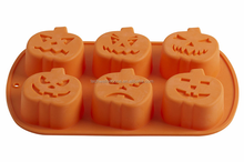 Wholesale Halloween Silicone Pumpkin Mold
