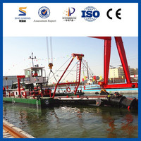 Most Economical Type Pontoon Dredger Vessel with 1550mm Diameter of Cutter Head