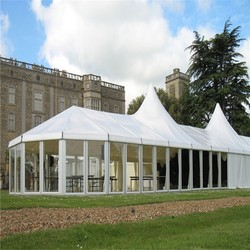 outdoor big PVC popular and Hot-sale garden marquee white wedding Tent for Event or Party