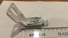 Precision custom metal hanging bracket die casting fabrication/Die-casting white painting steel single-side bracket