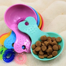 Candy Color The New Product Plastic Pet Scoop