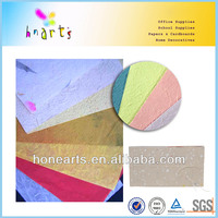 handmade paper with leaves,thin mulberry paper,handmade paper with bagasse fibers