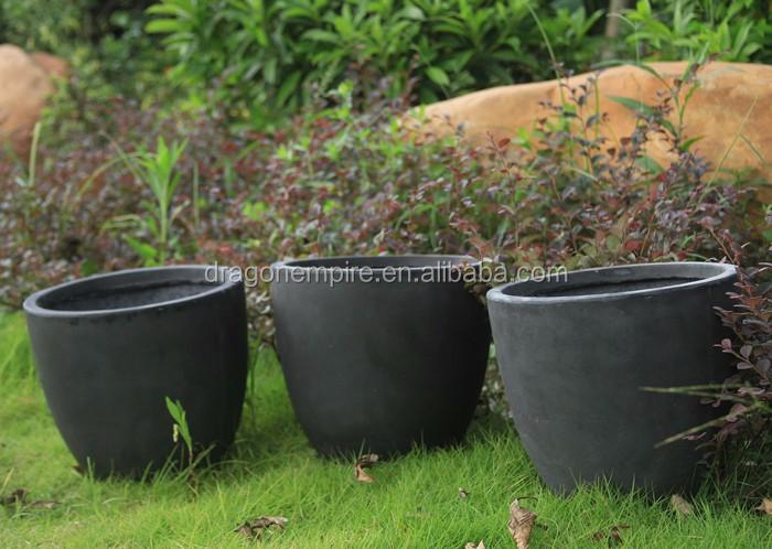 Outdoor Wholesale Planter And Pots Fiberglass Planter Pots