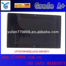 Thinkpad tablet 2 LP101WH4(SL)(A3) 10 inches/cheap toch screen monitor with pen touch digitizer