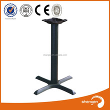 HD069 outdoor table bases wrought iron decorative metal furniture legs