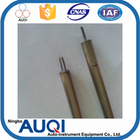 Doublex/simplex k type thermocouple cable, SS321 SS304 4 core armoured cable 120mm, S/R/B type chromel alumel thermocouple wire