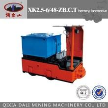 Batterie locomotive pour l'exploitation minière, Narrow gauge locomotive