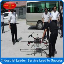 China coal 2015 venda quente controle remoto helicóptero não tripulado uav pulverização agrícola