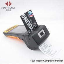 Multi-point touch capacitive 4.5inch screen SPEEDATA KT45 Android Mobile handheld computer thermal printer