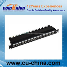 CAT.6 Patch panel 24P FTP UL approved