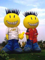 Inflatable cool boys mascot, inflatable replica for advertising from audiinflatables