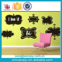 personalized vinyl wall chalkboard decal sticker art supplier manufacturer