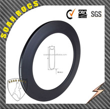 2015 SoarRocs chinese carbon wheels 88mm clincher 25mm width U shape rim without breaking surface carbon bicycle rims