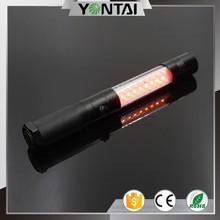 High power led emergency magnetic flashlight/ tactical flash light led
