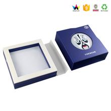 Logotipo personalizado de impressão caixas de jóias por atacado