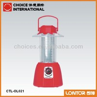 2013 3 colorful flashlights rechargeable lantern