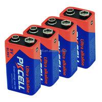 Top selling !! 9V 6LR61 Super alkaline battery for baby toys
