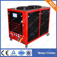 Metal laser cutting machine main parts, water chiller , water cooling system