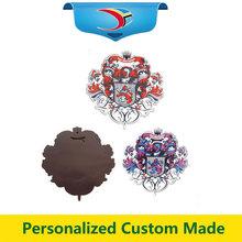 Wholesale souvenir fridge ceramic magnet with customized design