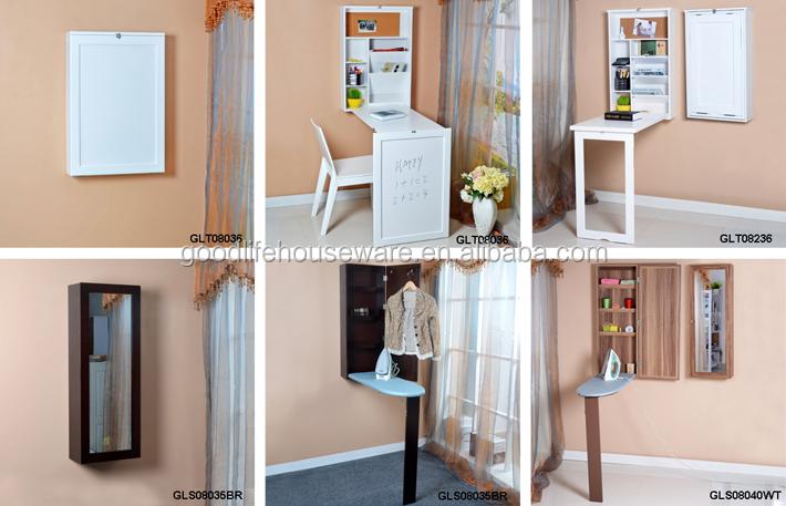 pliable mur mont cabinet avec planche repasser en gros. Black Bedroom Furniture Sets. Home Design Ideas