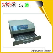 Wickon t962c rifusione forno a infrarossi macchina, piccola onda macchina di saldatura 110v 220v, rifusione forno desktop