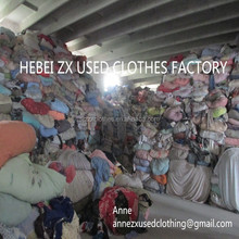 Bulk high quality bales of mixed used clothing for sale