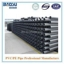 Good grey high pressure pvc pipes for water supply