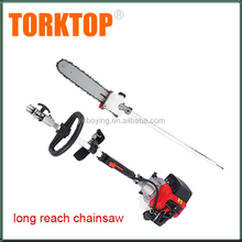 China hot selling long handle reach petrol chain saw