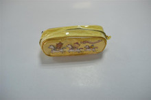 High quality Plastic pencil case with zipper for sale